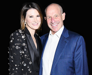 Lizzie and Jonathan Tisch, philanthropists who gave the leading generous gift for the MorseLife COVID-19 Emergency Relief Fund